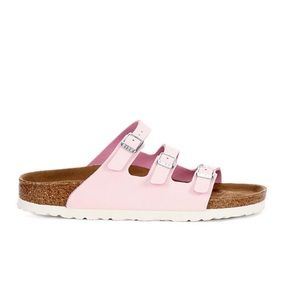 Birkenstock Shoes - BIRKENSTOCK FLORIDA FOOTBED SANDAL - BLUSH VEGAN